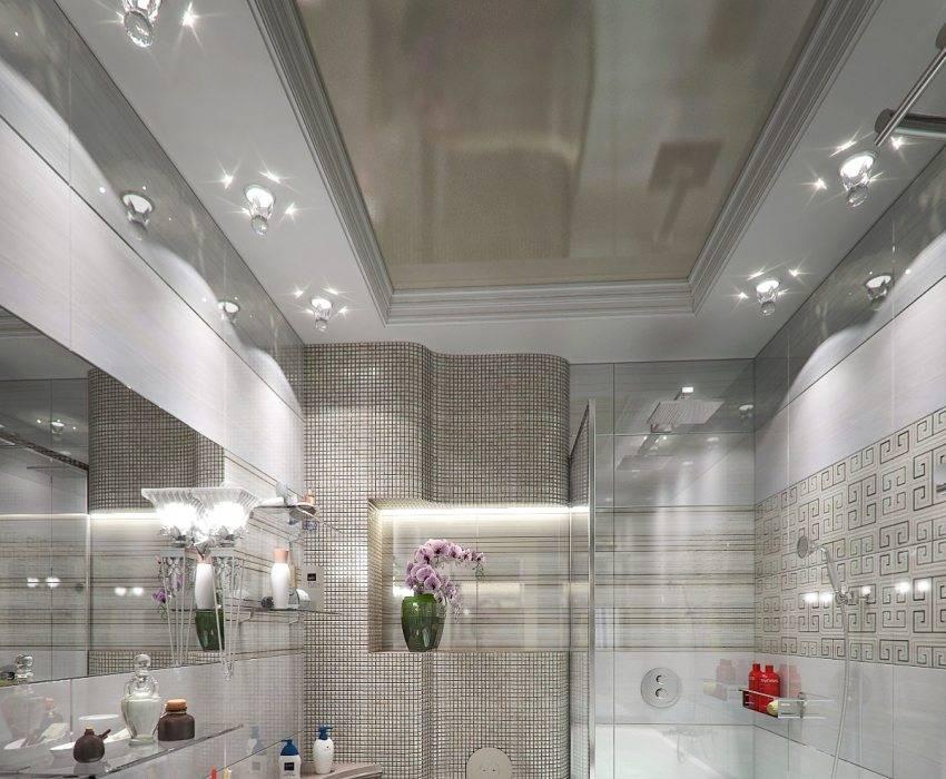 Как сделать своими руками натяжной, реечный или подвесной потолок в туалете, чем его обшить - фото и видео инструкция