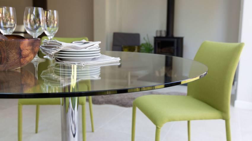 Стол для кухни: правила выбора, полезные советы, реальные фото