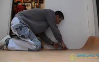 Укладка фанеры на деревянный пол под линолеум: какая толщина нужна