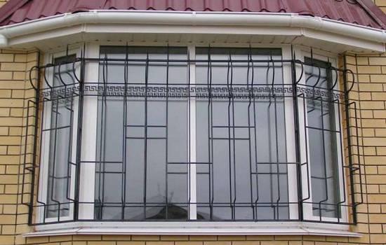 Решетки на окна - 100 фото готовых решений. лучшие варианты для частного дома