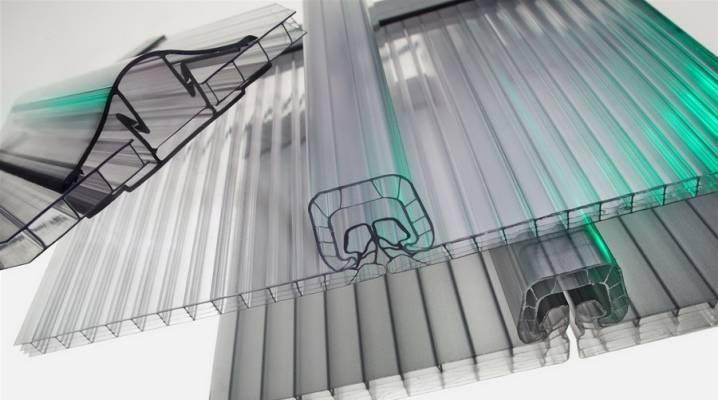 Крепление поликарбоната к металлическому каркасу теплицы: монолитного, сотового – термошайбами, лентой, шаг, профили
