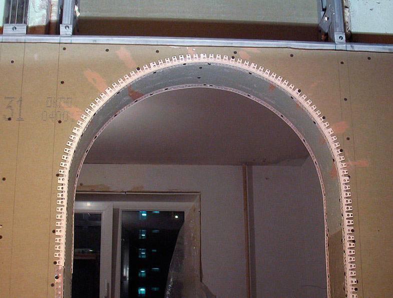 Как сделать арку своими руками в квартире, доме - из гипсокартона, фанеры: пошаговая инструкция монтажа межкомнатного арочного проема (фото, видео)