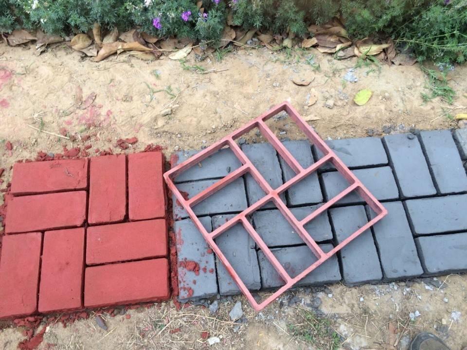 Как уложить самодельную тротуарную плитку на даче: пошаговая инструкция