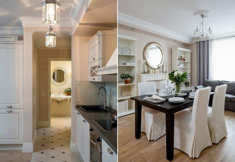 Маленькая кухня-гостиная: разъясняем досконально