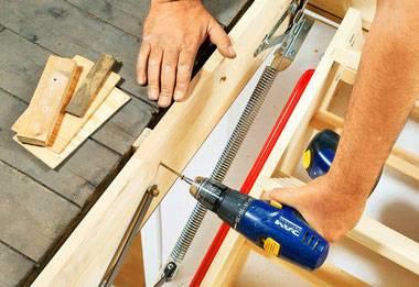 Чердачная лестница с люком своими руками: пошаговые мастер-классы с пояснениями