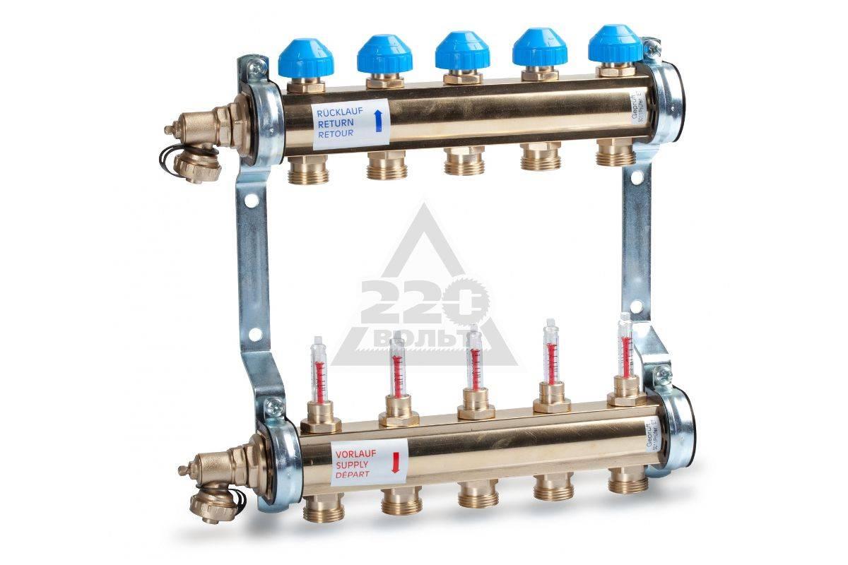 Коллекторная разводка труб водоснабжения в квартире - особенности монтажа