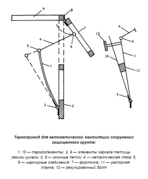 Автоматическое проветривание теплиц: детальная инструкция