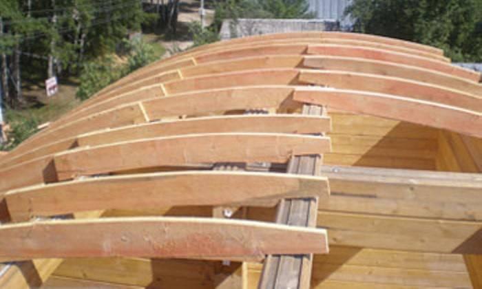 Как сделать круглую крышу – варианты купольной и конической кровли