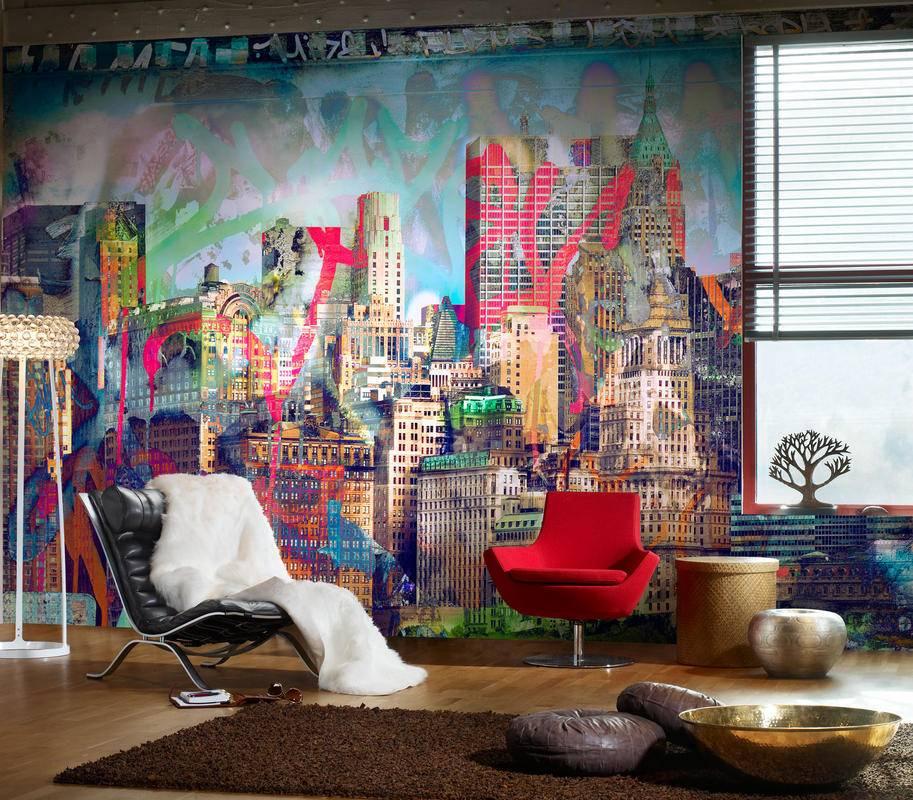 Дизайн стен в спальне - 95 фото стильных и современных тенденций оформления