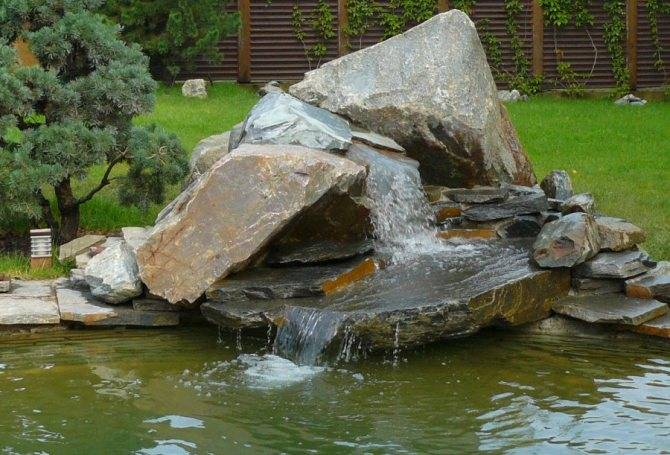 Как сделать водопад своими руками: пошаговый мастер-класс с фото и видео