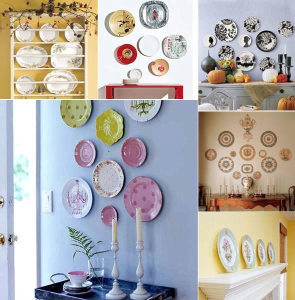 Декор из старой посуды: 55 вдохновляющих идей, которые оживят ваш интерьер