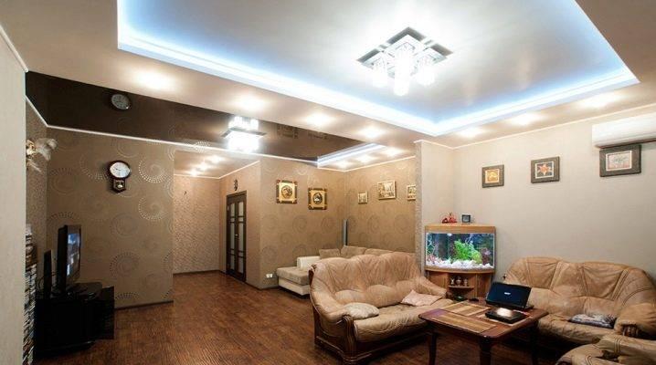 Потолок на кухне с газовой плитой: какой лучше сделать?