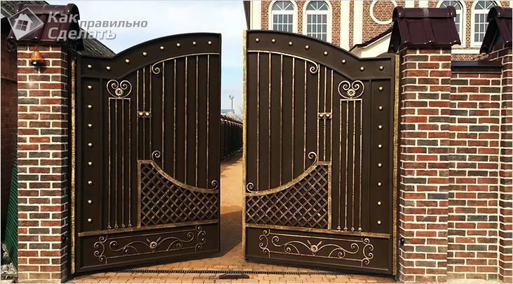 Как сделать секционные ворота для гаража своими руками