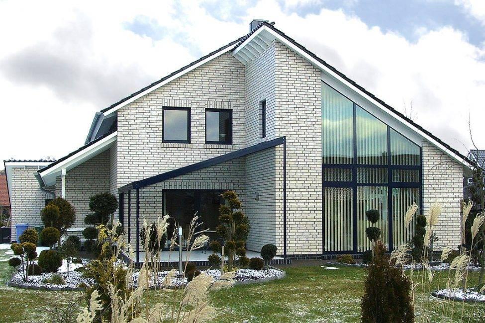 210 фото красивых домов из кирпича одноэтажныедвухэтажные. облицовка фасадов своими руками