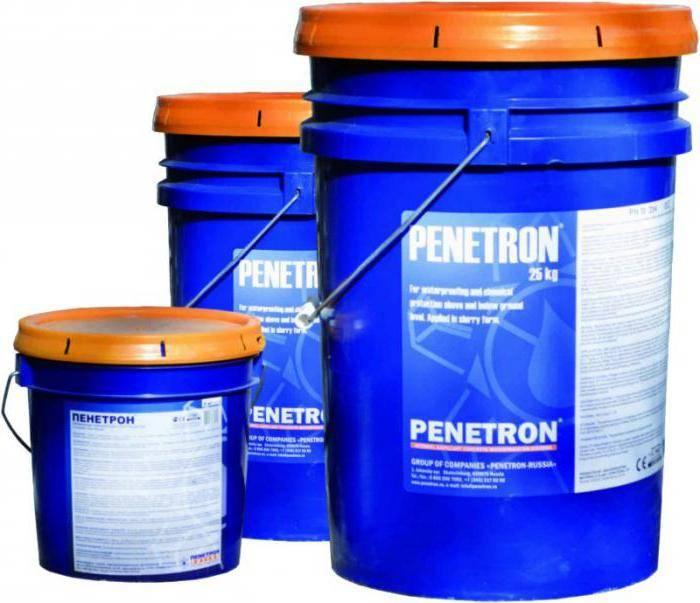 Пенетрон: инструкция по применению и сферы эксплуатации гидроизоляции