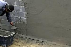 Штукатурка стен без маяков своими руками - работа с помощью ротбанда