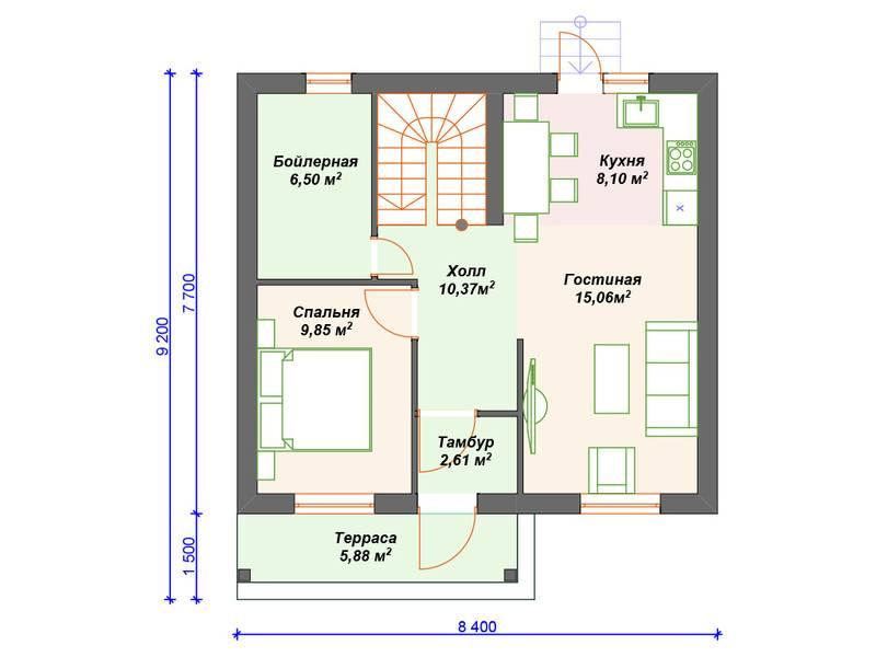 Дачный дом с мансардой и балконом: фото примеры воплощения проектов