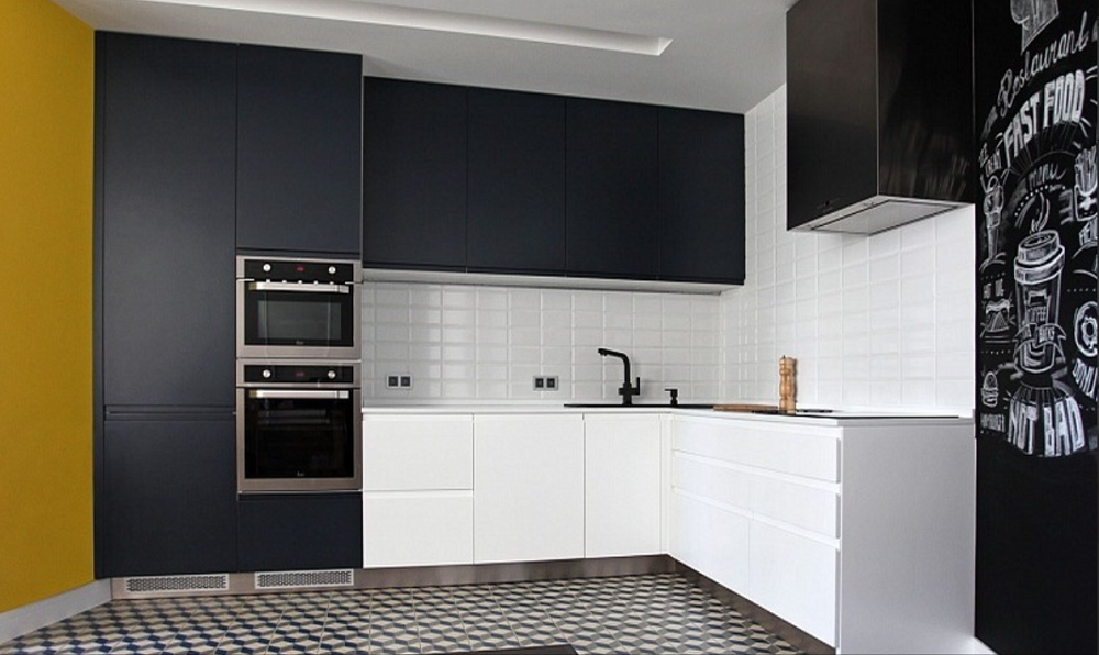 Прямые кухни - 59 фото распределения техники и гармоничные сочетаниякухня — вкус комфорта