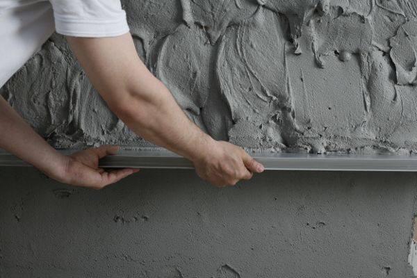Цементно-песчаная штукатурка для наружных и внутренних работ, состав