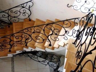 Перила для лестниц: 44 фото в частном доме, красивые идеи дизайна