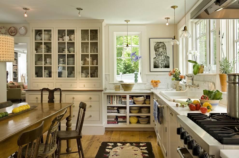 Дизайн кухни в английском стиле: интерьер, характерные черты и особенности, примеры современных идей, фото.