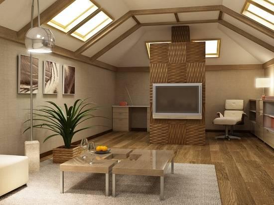 Внутренняя отделка деревянного дома — от пола до потолка