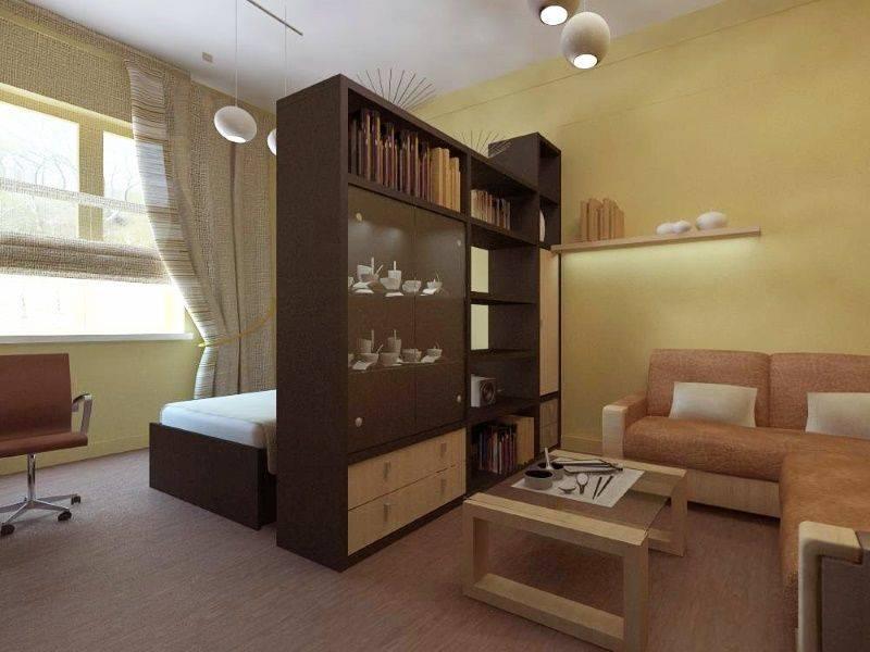Как разделить комнату на две зоны | home-ideas.ru
