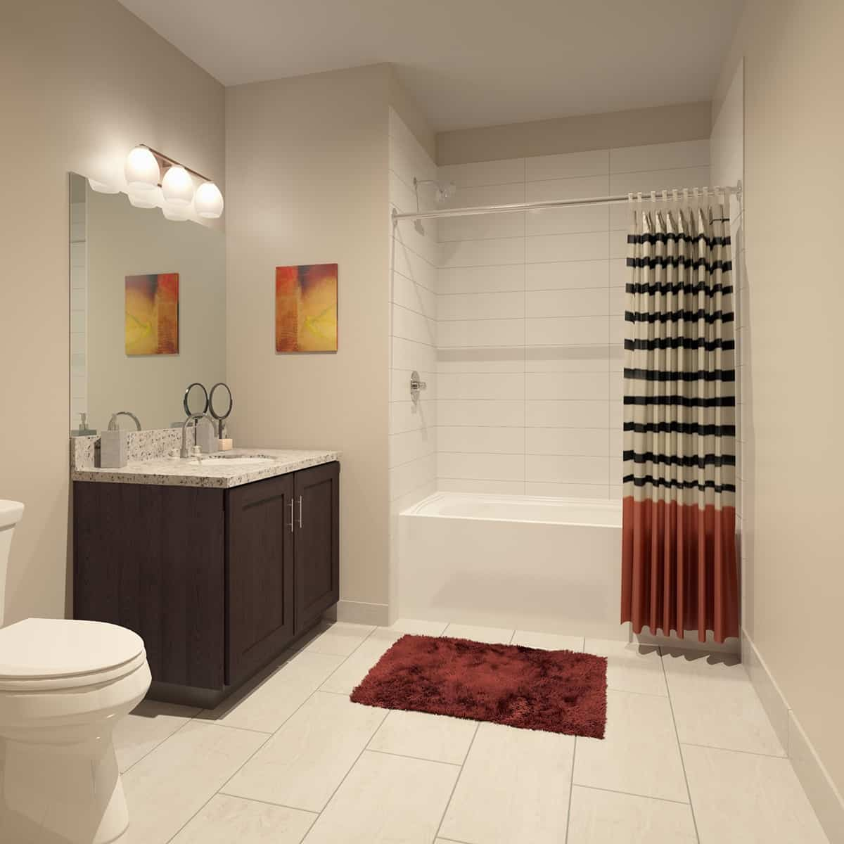 Устройство принудительной вентиляции ванной комнаты и туалета в частном доме