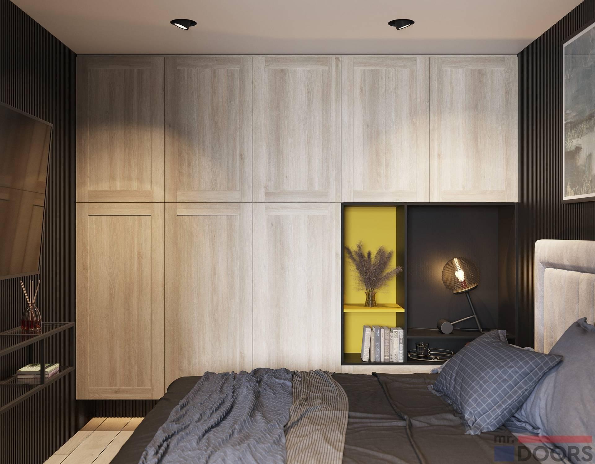 Шкаф в спальню - 50 фото идей современных моделей шкафов