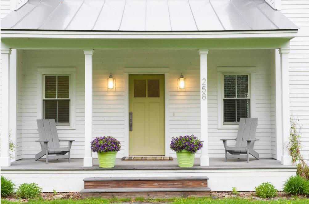 Современные проекты одноэтажных домов с террасой: нюансы планировки