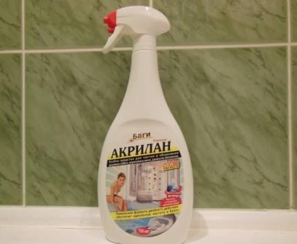 Уход за акриловой ванной в домашних условиях: выбираем средства для чистки
