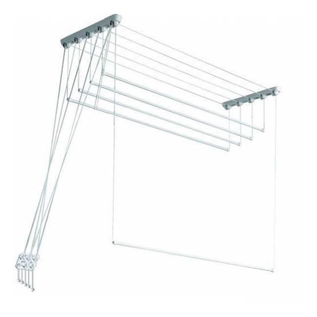 «лиана» для сушки белья на балконе: разновидности и инструкция по установке