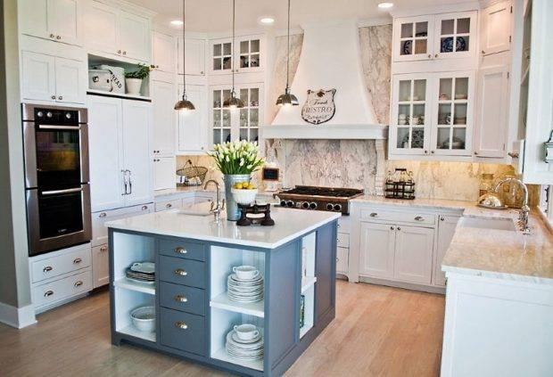 45 современных идей дизайна маленькой кухни