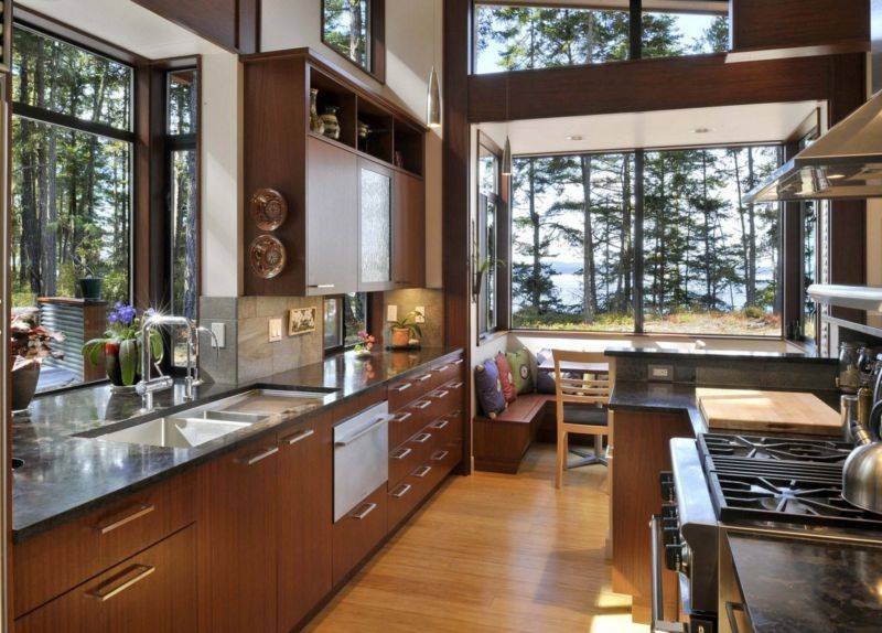 Дизайн окна в частном доме: оригинальные идеи с фото – сад и огород своими руками