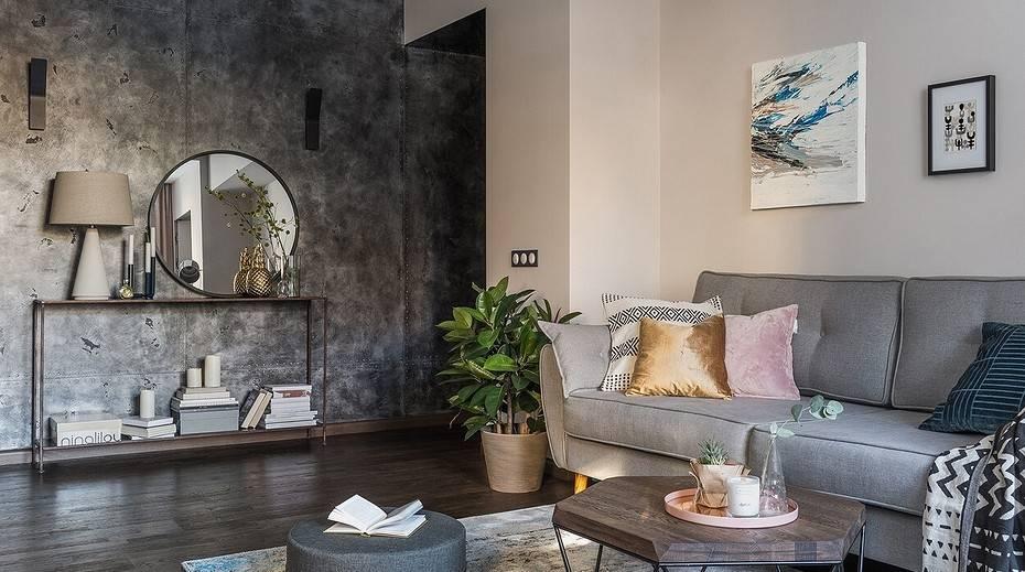 Спальня-гостиная 17 кв. м: зонирование комнаты, дизайн, фото интерьера, планировка