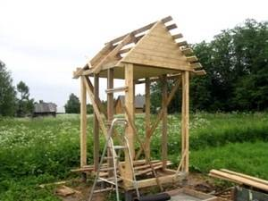 Дачный туалет - как построить своими руками? Проект Чертежи с размерами
