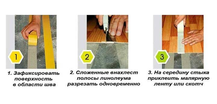 Холодная сварка для линолеума своими руками: Пошаговая инструкция