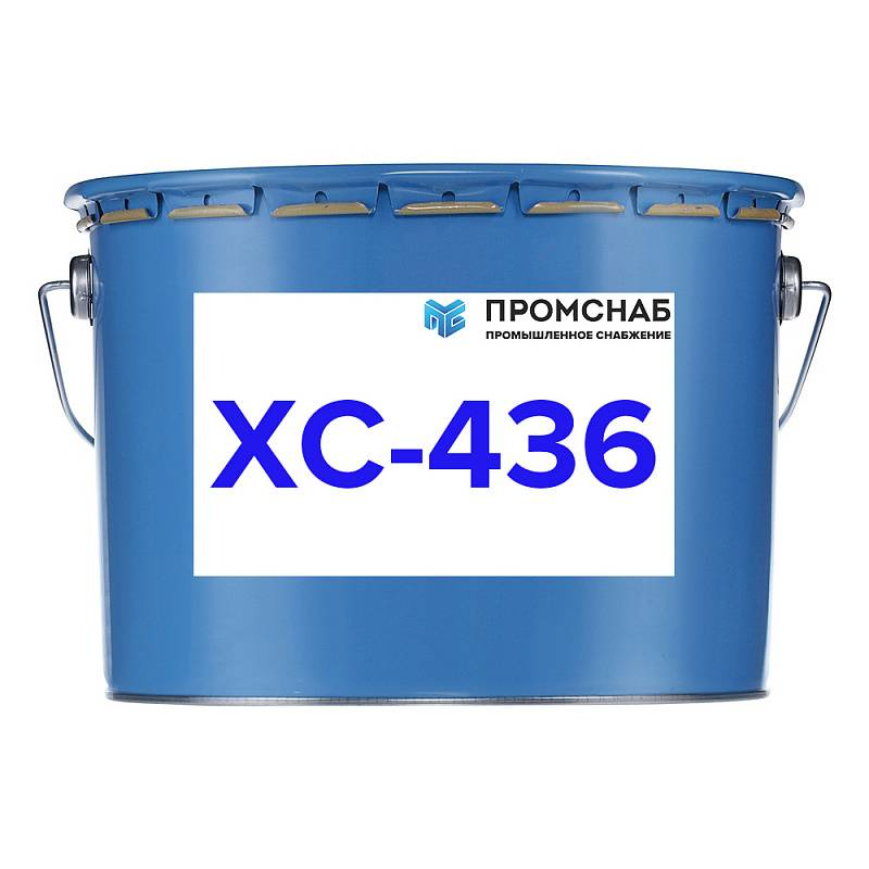 Эмаль хс-436 - характеристики и сфера применения