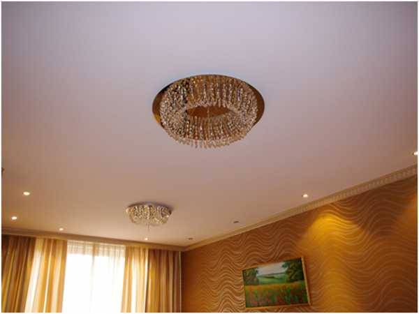 Какой лучшей выбрать материал для натяжных потолков? (11 фото)