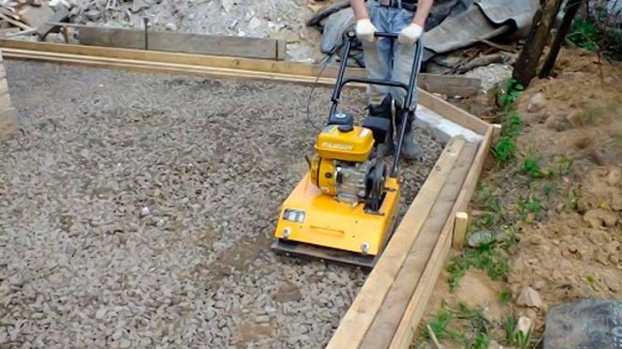 Как правильно сделать подсыпку под фундамент дома?