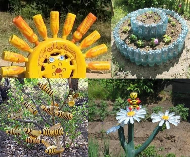Поделки для огорода — лучшие идеи для дачи своими руками. 120 фото и советы как сделать оригинальные и полезные поделки