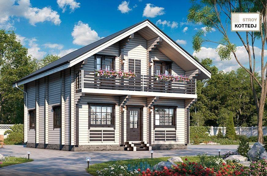Проекты одноэтажных загородных домов. дома прямоугольной формы — это экономия ваших денег
