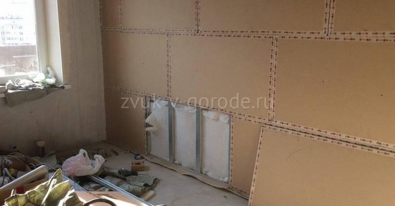Бескаркасная шумоизоляция стен в квартире: современные материалы
