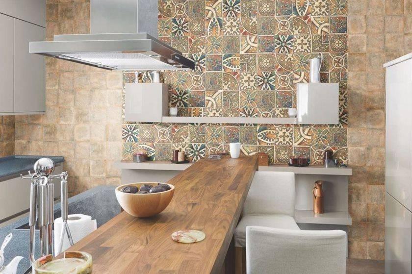 Выбираем плитку на кухню: для укладки на пол и на фартук