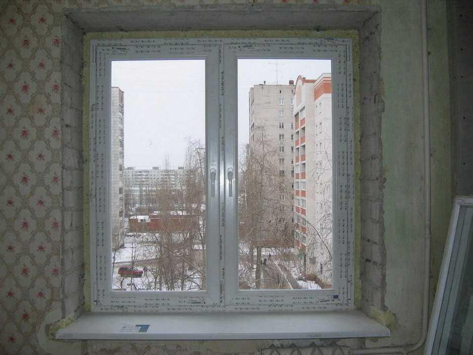 Установка подоконника: как установить подоконник на пластиковые окна своими руками