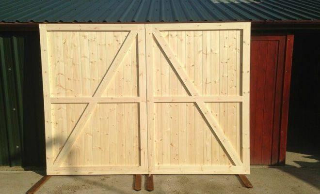 5 советов, какие ворота в гараж лучше выбрать: виды, размеры