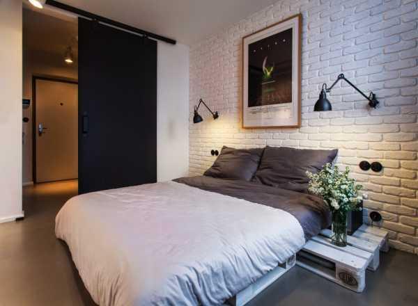 Интерьер спальни в хрущевке - фото 2016 года, современные идеи