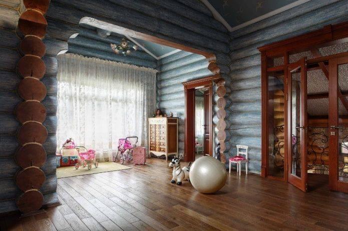 Идеи интерьера для деревянного дома. какие стили интерьера подойдут
