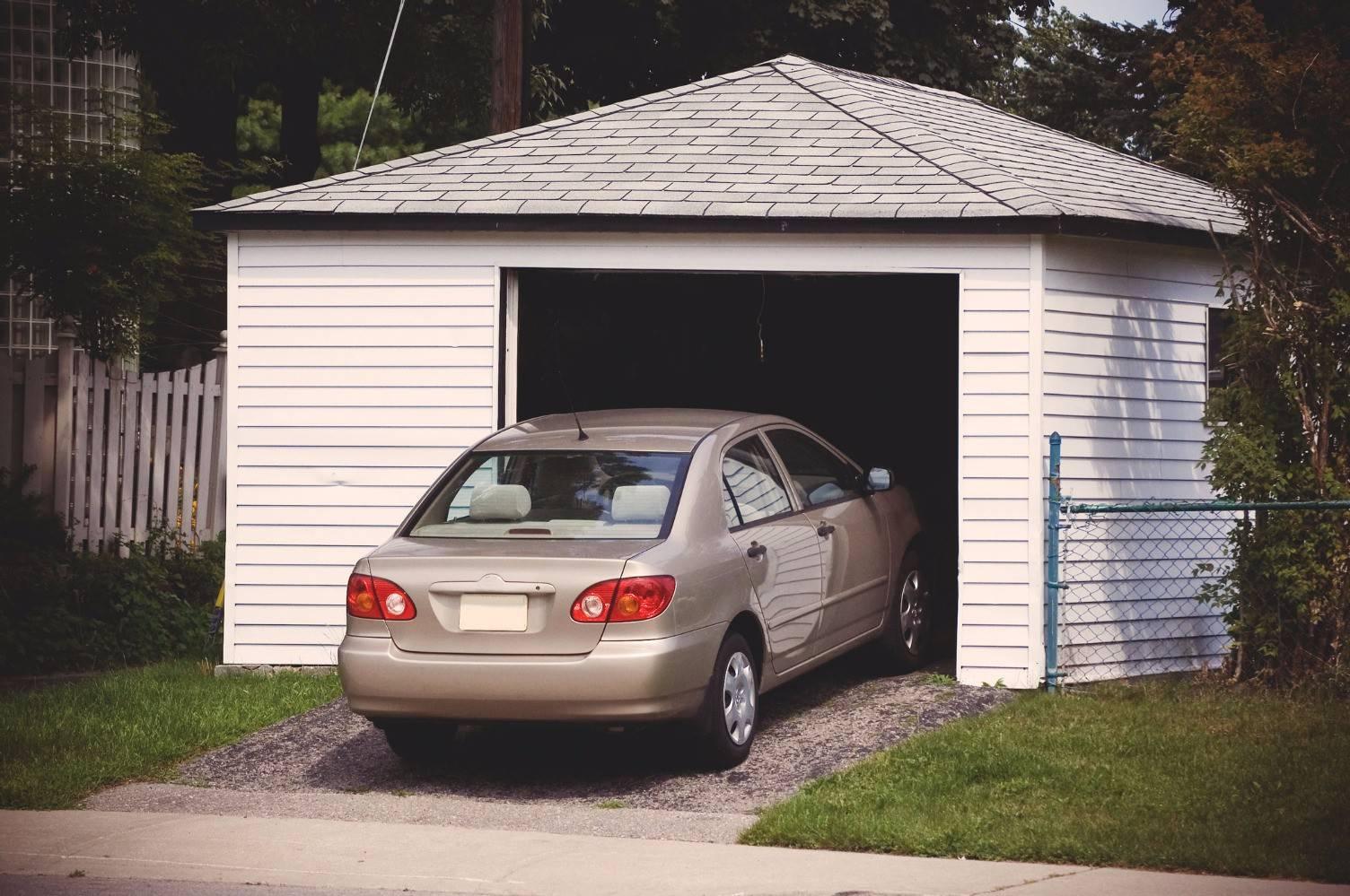 Размер гаража на 1 машину: минимальный и оптимальный