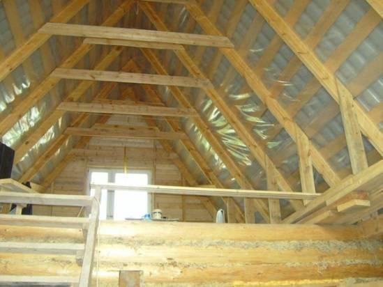 Мансарда в деревянном доме дизайн